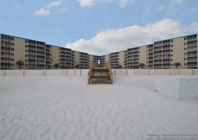 CommunityRearView Holiday Surf & Racquet Club - Unit 421