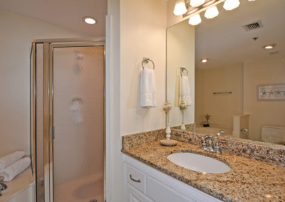MasterBathroomView2- sterling sands 209