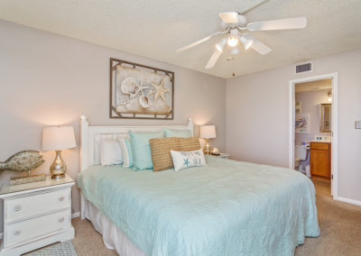 Holiday Surf & Racquet Club - Unit 421 MasterBedroomView3
